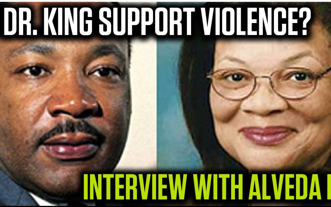 "Alveda King: ""Violence betrays the legacy of Dr. Martin Luther King, Jr."""