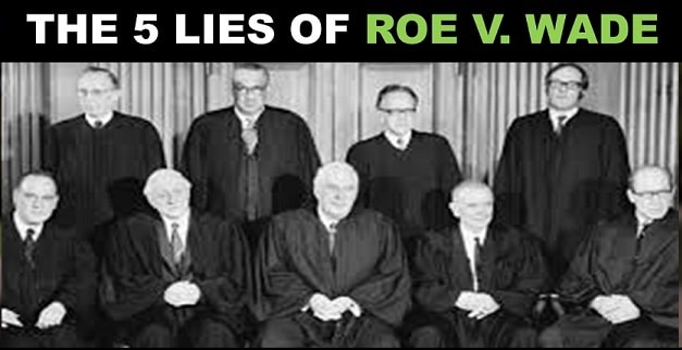 5 Lies of Roe v. Wade Debunked