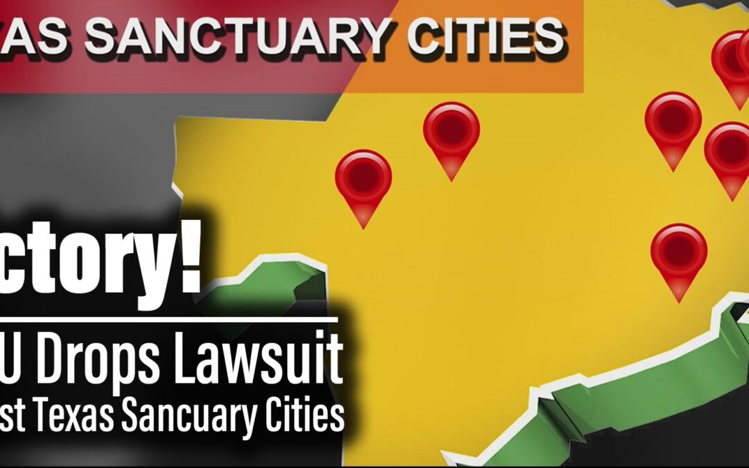 BREAKING: ACLU drops lawsuit against 7 Texas Sanctuary Cities for the Unborn | The Mark Harrington Show