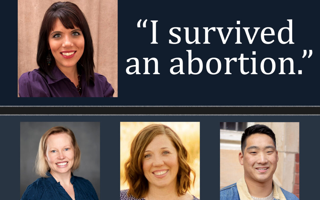 """I Survived an Abortion"" – An Interview with Melissa Ohden 