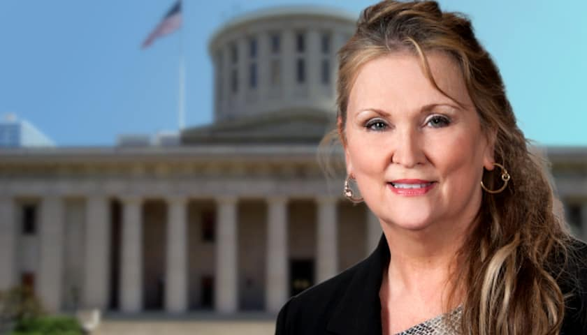 """Controversial State Rep Vows to """"Bring America Back"""" – Interview with Candice Keller of Patriot America   The Mark Harrington Show   3-1-21"""